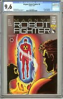 Magnus Robot Fighter #6 1991 CGC 9.6 White Pages 1221343014