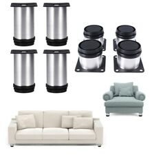 Stainless Steel Adjustable Round Cabinet Sofa Furniture Cabinet Foot Legs