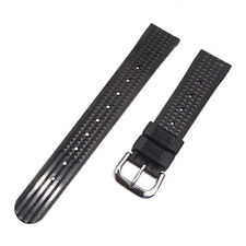 20mm Rubber Waffle Watch Band Strap for Seiko 6105 6217 6159 Diver Watch UK