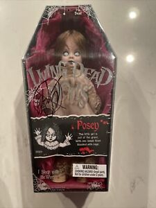 Living Dead Dolls Posey by Mezco Signed by Ed Long