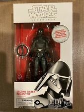 STAR WARS BLACK SERIES SECOND SISTER PREMIER EDITION FIRST DAY WHITE BOX MISB