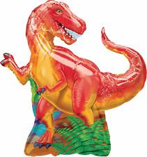 Tyrannosaurus Rex Dinosaur Foil Balloon Birthday Party Decoration Supplies T Rex