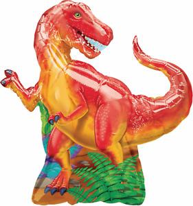 Tyrannosaurus Dinosaur Foil Balloon Kid Birthday Party Decoration Supplies T Rex