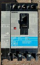 SIEMENS ED43B070 3 POLE 70 AMP 480 VOLT W/S01ED60 Shunt Trip Circuit Breaker ED