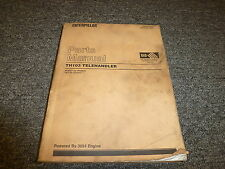 Caterpillar Cat TH103 Telehandler Telescopic Forklift Parts Catalog Manual 3054