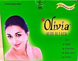 Olivia Herb Bleach-270 g Large Pack-Turmeric,Sandal,Aloe Vera, Lemon