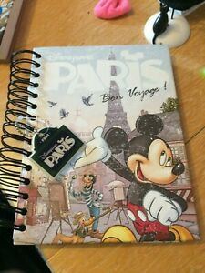 DISNEYLAND PARIS NOTE BOOK FROM 1992 VINTAGE AND HOPEFULLY RARE