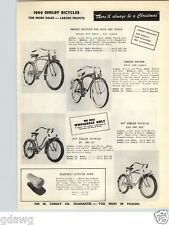 1949 PAPER AD Shelby Bicycle Toy Kid's Plastic Tea Sets Worchester Ware Jolly