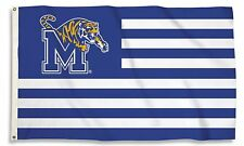 Memphis Tigers 95344 Stripes Nation 3x5 Flag w/grommets Banner University of