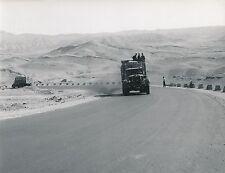 QAZVIN c. 1960 -Camions Route de Hamadan Le Passage de l'Elbourz Iran - Div 6327