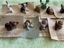 New listing Vintage Hagen-Renaker Figs Squirrel Mouse Dog Bear Rabbit Skunk Dragon