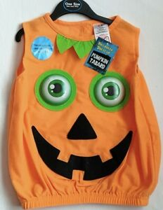 Childs - Halloween Dress Up - Pumpkin Tabard - One Size - Brand New