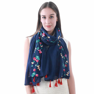 Clothing & Accessories Women Teal Lina & Lily Solid Color Crimp ...