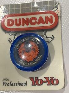 Duncan - Professional Yo-Yo ~ Yo Yo New Sealed In Package -USA - Blue