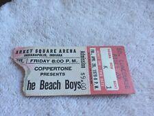 Original April 20, 1979 The Beach Boys concert ticket stub Indianapolis Indiana