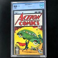Action Comics #1 (DC 1988) 💥 CBCS 9.8 💥 50TH ANNIVERSARY REPRINT! Superman