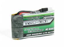 Turnigy nano-tech 750mah 1S 35-70C Lipo Pack Nine Eagles Solo-Pro 180 UK ne-ba93