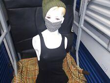 Beautiful Female Mannequin Realistic Torso Half Body Head Turn To Dress