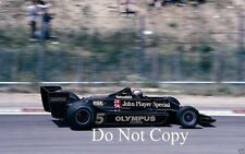 Mario Andretti JPS Lotus 79 F1 Season 1978 Photograph 3