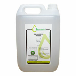 De-Ionised/Demineralised Water 10 LITRES (2 x 5 litres)