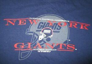 Vintage Galt Sand 1996 NEW YORK GIANTS Eastern Division NFL (LG) T-Shirt