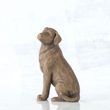 Love My Dog (dark) Willow Tree Figurine 27683