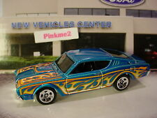 2016 Hot Wheels '69 MERCURY CYCLONE☆Candy Blue; 5sp☆☆New LOOSE☆HW Flames