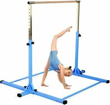 Shiwei Gymnastics Horizontal Kip Bar 3ft-5ft (Blue)