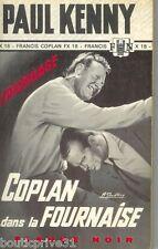 Livre  / Roman  de poche - Coplan dans la Fournaise - Paul Kenny