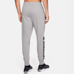 Under Armour Training Pants Mens 2XL Gray Lightweight Charged Cotton Gym Joggers
