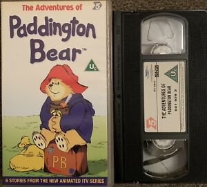 The Adventures Of Paddington Bear-VHS VIDEO SMALL BOX/CHANNEL 5 VIDEO.