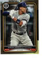 Aaron Judge 2020 Topps Tribute 5x7 Gold #24 /10 Yankees