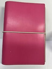 Filofax Personal Size Domino Organiser Planner Diary Hot Pink