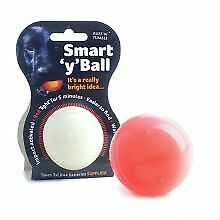Ruff 'N' Tumble Smart 'Y' LED Glow Ball   Dogs