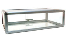 "Countertop Glass Showcase Retail Store Merchandise Display 30""Lx18""Dx9 4;H New"