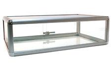 Countertop Glass Showcase Retail Store Merchandise Display 30lx18dx9h New
