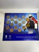 The Vancouver 2010 Circulation Coins Olympic Set RBC Royal Canadian Mint