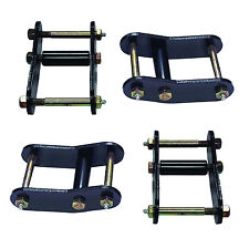 Heavy-Duty Greasable Front and Rear Lift Shackle Kit fits Jeep Wrangler YJ