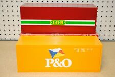 LGB 5057 (50570) (2) P&O and LGB Containers *G-Scale* NEW
