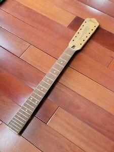 SUPER RARE Vintage New 12 String Framus 22 Fret Guitar Neck NOS Dated