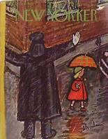1953 New Yorker Oct 10 - Rainy Day Policeman