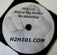 Eight Limbs Training Muay Thai DVD Kickboxing Bag Punch Kick Elbows Knees Video