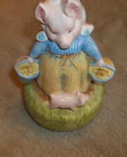1985 Beatrix Potter Aunt Pettitoes Music box