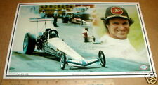 1979 Don Garlits Navy Dragster drag racing New sportstars photographics placemat