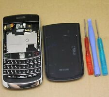 COQUE COMPLET FACADE CHASSIS REMPLACEMENT BLACKBERRY BOLD 2 9700 NOIR + CLAVIER