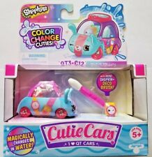 Shopkins Cutie Cars COLOR CHANGE Series 3 - QT3-C12 Watch Wheels - NEW In Hand!