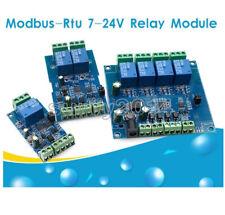 Modbus Rtu 124 Channel 7 24v Relay Module Switch Modbus Rtu Switch Rs485 Ttl