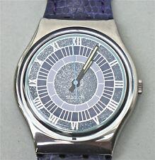 Hermosas coleccionista cuarzo-reloj de pulsera de la marca Swatch en estupenda llamada Design (u36)
