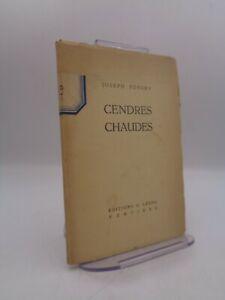 Joseph Fonsny : Cendres chaudes 1935 Dédicace manuscrite Edition originale