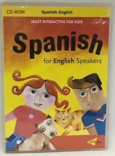 Spanish For English Speakers Interactive Learnig Cd-Rom For Kids